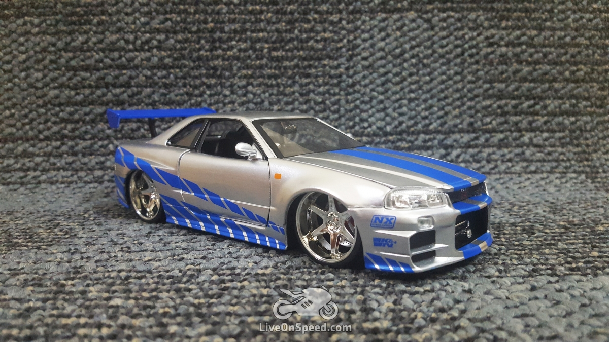 fast furious nissan skyline gt r r34 brian o 39 conner. Black Bedroom Furniture Sets. Home Design Ideas